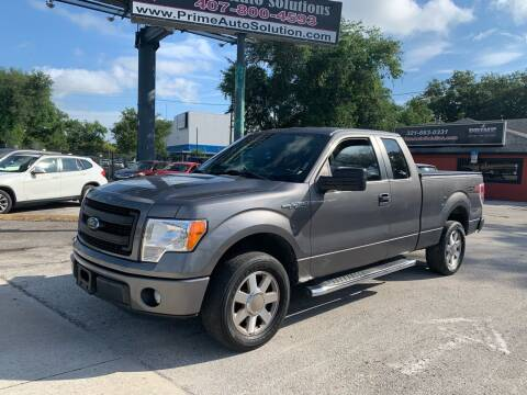 2013 Ford F-150 for sale at Prime Auto Solutions in Orlando FL