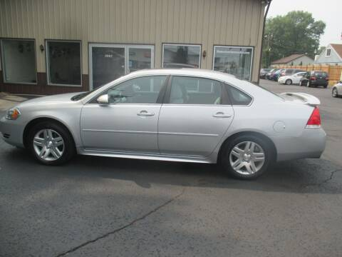 2012 Chevrolet Impala for sale at Home Street Auto Sales in Mishawaka IN