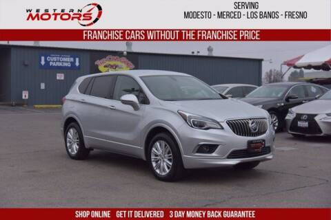 2017 Buick Envision for sale at Choice Motors in Merced CA