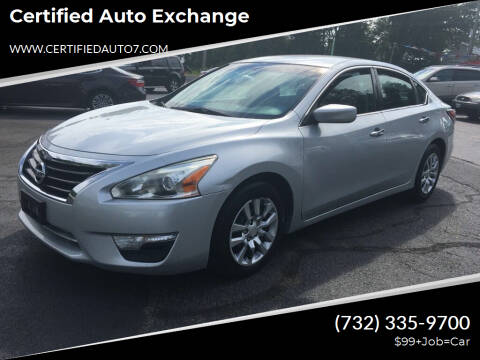 2015 Nissan Altima for sale at Certified Auto Exchange in Keyport NJ