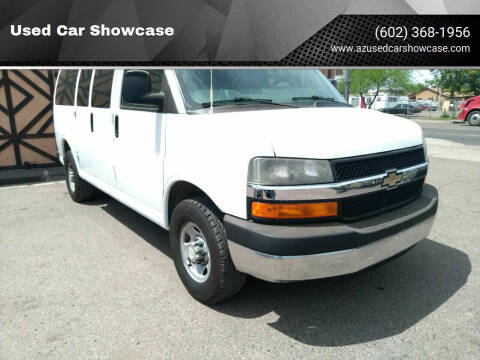 2011 Chevrolet Express Passenger for sale at Used Car Showcase in Phoenix AZ
