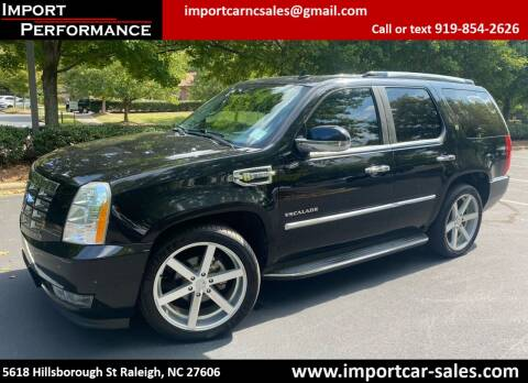 2010 Cadillac Escalade Hybrid for sale at Import Performance Sales in Raleigh NC