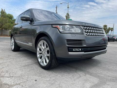 2015 Land Rover Range Rover for sale at Boktor Motors in Las Vegas NV