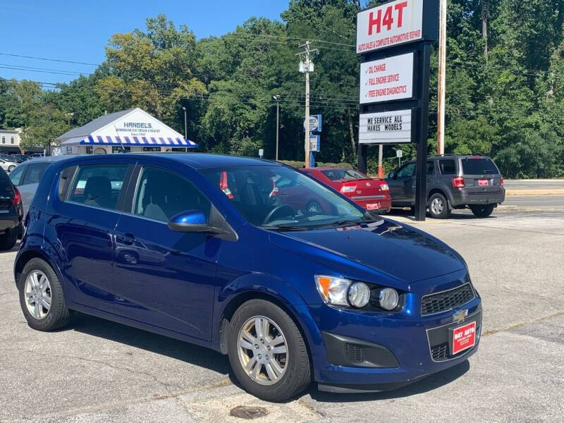 2013 Chevrolet Sonic for sale at H4T Auto in Toledo OH