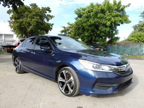 2016 Honda Accord for sale at SUPER DEAL MOTORS in Hollywood FL
