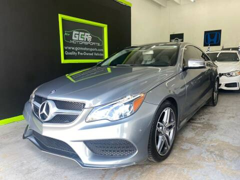 2016 Mercedes-Benz E-Class for sale at GCR MOTORSPORTS in Hollywood FL