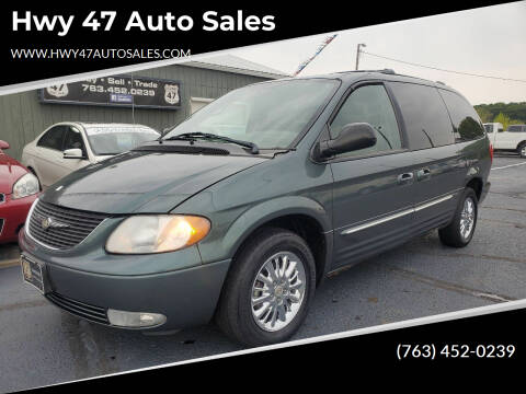 2003 Chrysler Town and Country for sale at Hwy 47 Auto Sales in Saint Francis MN