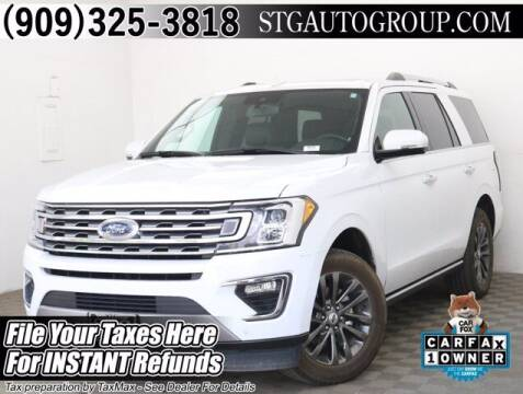 2019 Ford Expedition for sale at STG Auto Group in Montclair CA