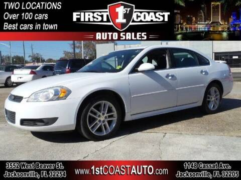 2011 Chevrolet Impala for sale at 1st Coast Auto -Cassat Avenue in Jacksonville FL