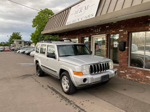 2007 Jeep Commander for sale at M&M Auto Sales in Portland OR