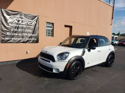 2013 MINI Countryman for sale at ENZO AUTO in Parma OH