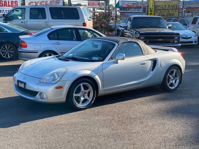 2003 Toyota MR2 Spyder for sale at QUALITY AUTO SALES OF NEW YORK in Medford NY