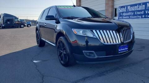 2012 Lincoln MKX for sale at Sand Mountain Motors in Fallon NV