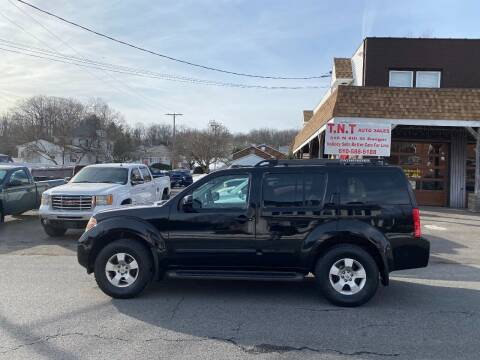 2006 Nissan Pathfinder for sale at TNT Auto Sales in Bangor PA