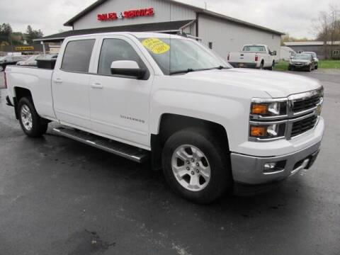 2015 Chevrolet Silverado 1500 for sale at Thompson Motors LLC in Attica NY