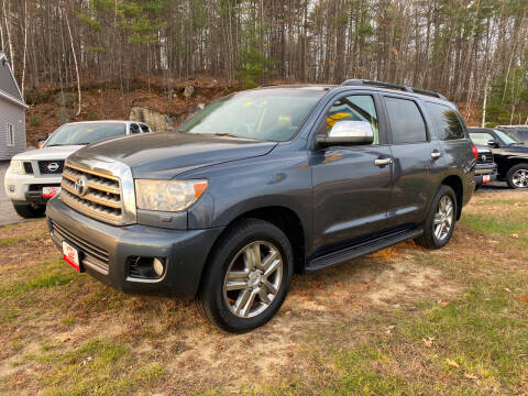 2008 Toyota Sequoia for sale at Dubes Auto Sales in Lewiston ME