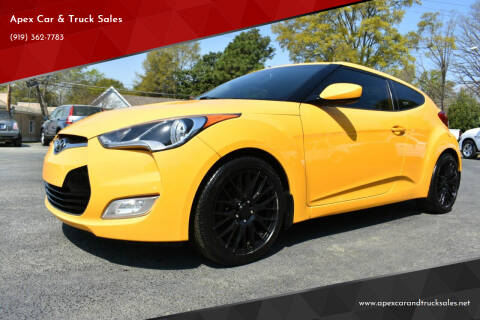 2015 Hyundai Veloster for sale at Apex Car & Truck Sales in Apex NC
