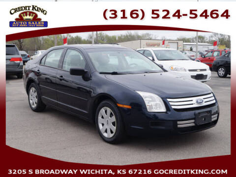 2008 Ford Fusion for sale at Credit King Auto Sales in Wichita KS