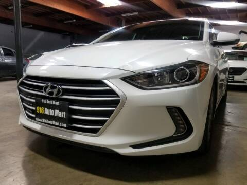 2017 Hyundai Elantra for sale at 916 Auto Mart ONLY $399 DOWN!!!* in Sacramento CA