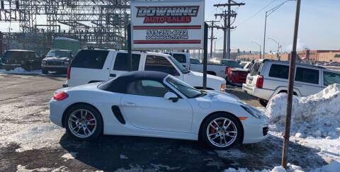 2013 Porsche Boxster for sale at Downing Auto Sales in Des Moines IA