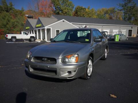 2005 Subaru Impreza for sale at 207 Motors in Gorham ME