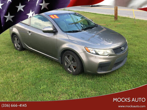 2011 Kia Forte Koup for sale at Mocks Auto in Kernersville NC