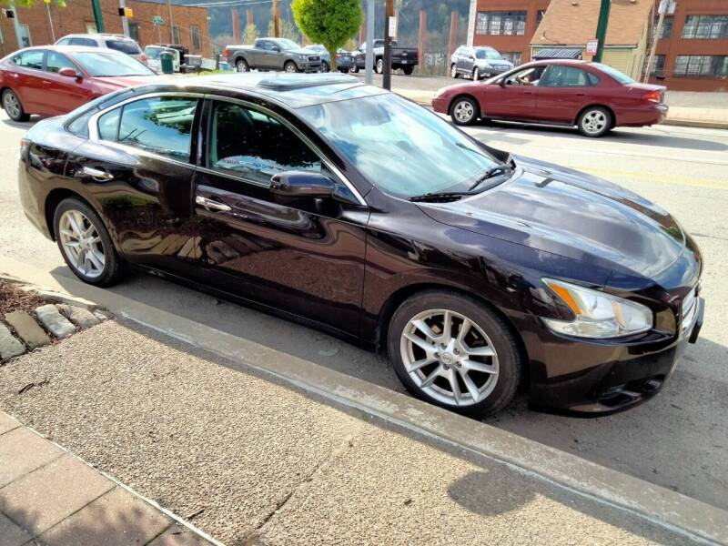2013 Nissan Maxima for sale at High Level Auto Sales INC in Homestead PA