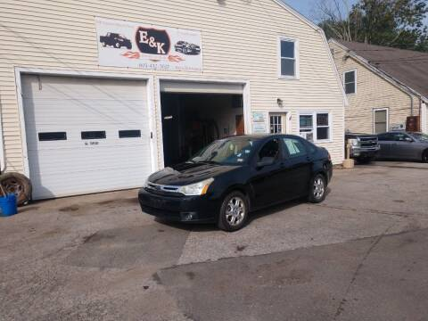 2009 Ford Focus for sale at E & K Automotive in Derry NH