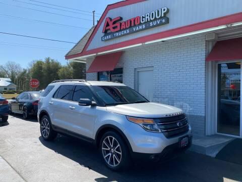 2015 Ford Explorer for sale at AG AUTOGROUP in Vineland NJ