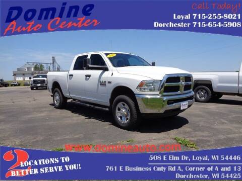 2017 RAM Ram Pickup 2500 for sale at Domine Auto Center in Loyal WI