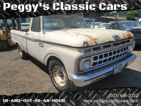 1965 Ford F-250 for sale at Peggy's Classic Cars in Oregon City OR