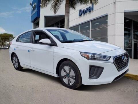 2021 Hyundai Ioniq Hybrid for sale at DORAL HYUNDAI in Doral FL