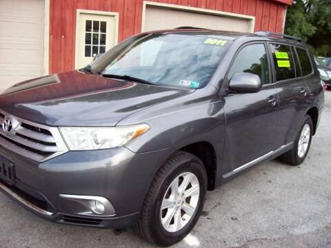 2011 Toyota Highlander for sale at Clift Auto Sales in Annville PA