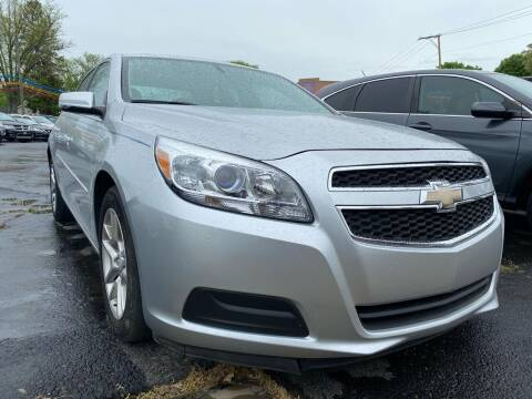 2013 Chevrolet Malibu for sale at Auto Exchange in The Plains OH