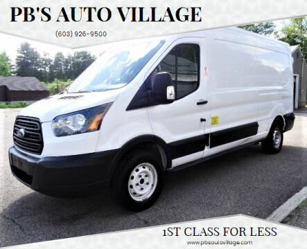 2017 Ford Transit Cargo for sale at PB'S Auto Village in Hampton Falls NH