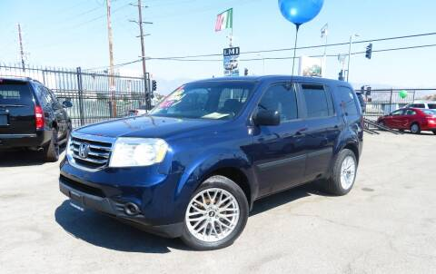 2013 Honda Pilot for sale at Luxor Motors Inc in Pacoima CA