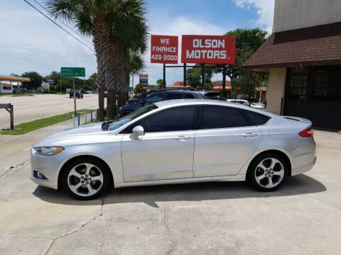 2016 Ford Fusion for sale at Olson Motors LLC in Saint Augustine FL