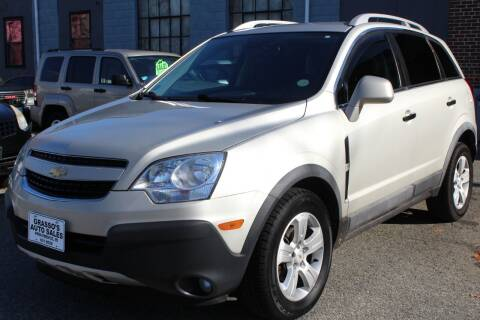 2014 Chevrolet Captiva Sport for sale at Grasso's Auto Sales in Providence RI