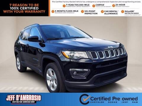 2020 Jeep Compass for sale at Jeff D'Ambrosio Auto Group in Downingtown PA