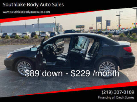 2014 Chrysler 200 for sale at Southlake Body Auto Sales in Merrillville IN