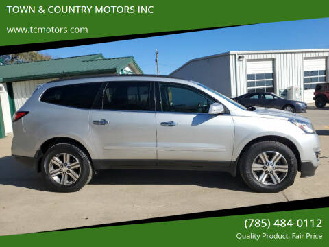 2016 Chevrolet Traverse for sale at TOWN & COUNTRY MOTORS INC in Meriden KS