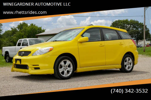 2004 Toyota Matrix for sale at WINEGARDNER AUTOMOTIVE LLC in New Lexington OH