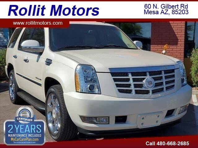 2013 Cadillac Escalade for sale at Rollit Motors in Mesa AZ