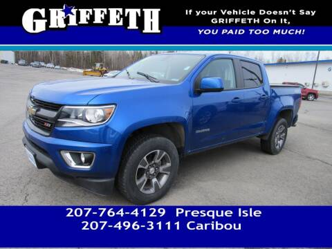 2018 Chevrolet Colorado for sale at Griffeth Mitsubishi - Pre-owned in Caribou ME