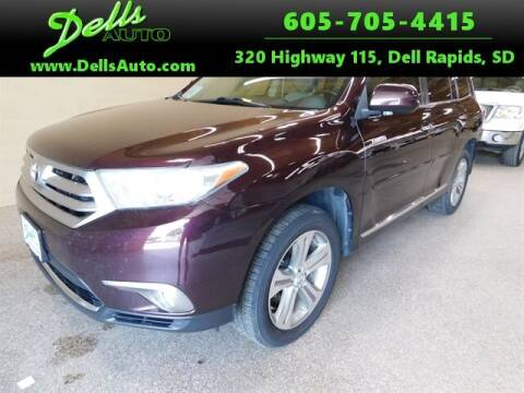 2011 Toyota Highlander for sale at Dells Auto in Dell Rapids SD