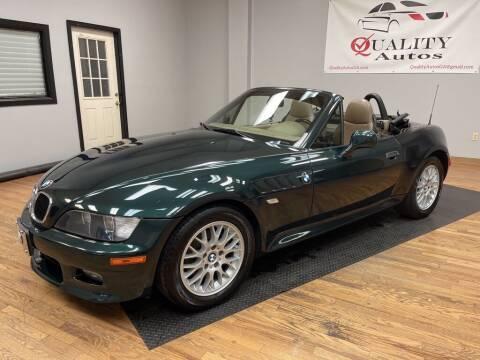 2001 BMW Z3 for sale at Quality Autos in Marietta GA