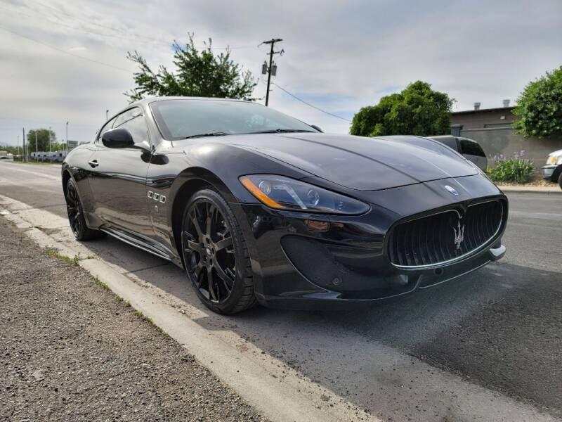 2015 Maserati GranTurismo for sale at High Line Auto Sales in Salt Lake City UT