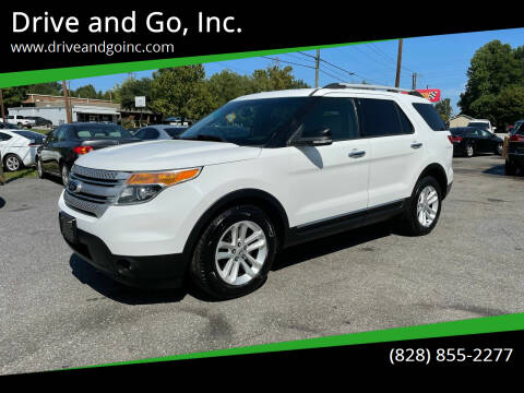 2013 Ford Explorer for sale at Drive and Go, Inc. in Hickory NC