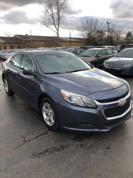 2014 Chevrolet Malibu for sale at Newcombs Auto Sales in Auburn Hills MI