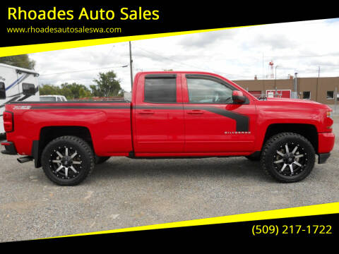 2016 Chevrolet Silverado 1500 for sale at Rhoades Auto Sales in Spokane Valley WA